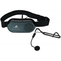 Bärbar röstförstärkare med headset - Monacor WAP-5