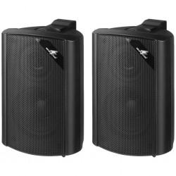 Svarta högtalare för bakgrundsmusik - Monacor EUL-30