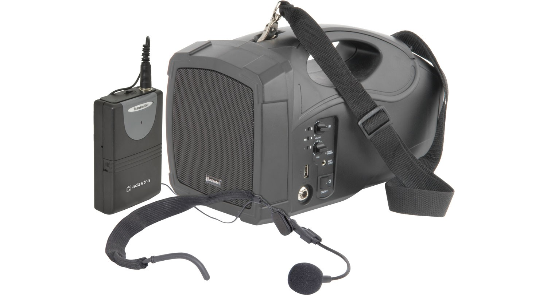 Batteridriven bärbar högtalare med trådlöst headset – Adastra H25 e3038c865a595