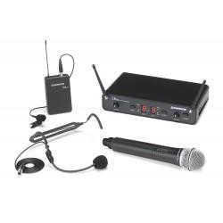 Headset och mikrofon till samma mottagare - Samson consert 288 All in one system