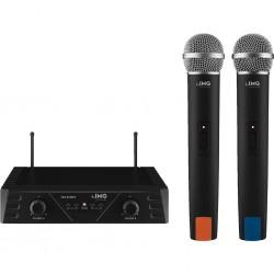 Dubbla trådlösa mikrofoner - Monacor TXS-812SET