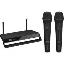 2 trådlösa mikrofoner till en mottagare - IMG Stage Line TXS-2402SET