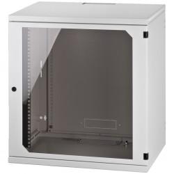 Rackskåp 19 tum 12 höjdenheter med låsbar dörr - RACK-12W