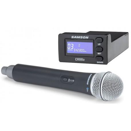 Handhållen trådlös mikrofon och mottagare som passar XP310w eller XP312w