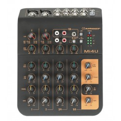 Mixerbord med usb - AUDIOPHONY MI 4 U