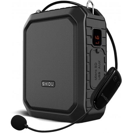 Röstförstärkare utomhus trådlös med bluetooth - Shidu M800 - Wireless