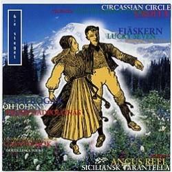 6:e steget CD - Europeiska folkdanser