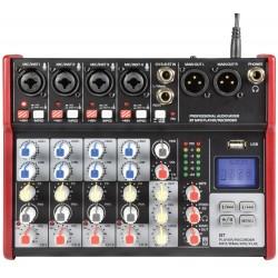 Litet mixerbord med usb - Citronic CSM-6 Mixer