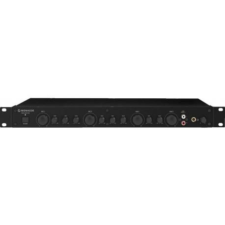 Rackmixer 19 tum, 1 he - Monacor VMX-440/SW