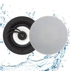 "Takhögtalare badrum Bluetooth - Lithe Audio 6.5"" Bluetooth 5 IP44 (par Mono/Stereo)"