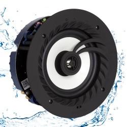 """Våtrumshögtalare Bluetooth - Lithe Audio 6.5"""" Bluetooth 5 IP44 (Singel)"""