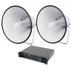 Ljudsystem för fotbollsplan som tål fukt och kyla. Frakt 0 kr ... 865536bfc004b