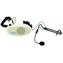 Monacor WAP-3 - Midjehögtalare med headset till lågt pris