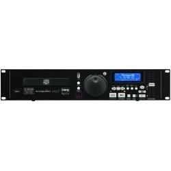 CD-spelare med Pitch, USB-ingång och Fjärrkontroll - IMG Stageline CD-196USB
