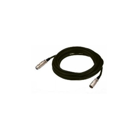 XLR-kabel 1 meter - MEC-100/SW