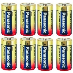 Batterier LR-14 - 8-pack
