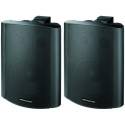 Högtalarset med 2 högtalare, stereo,  Monacor MKA-80SET/SW