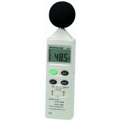 Ljudnivåmätare som mäter noggrannt och är lättavläst - Monacor SM-2