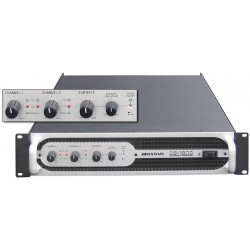 Slutsteg för två toppar och en subbas - 3 kanaler - JB-Systems C3-1800