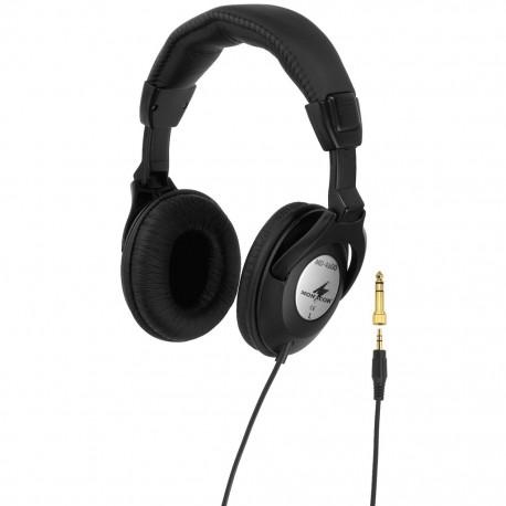 Slutna hörlurar med god ljudisolering - Monacor MD-4600