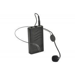 Headset med Bodypack till QTX QX15-PA och QTX QX12PA