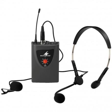 Headset+mygga+sändare - Monacor TXA-100HSE